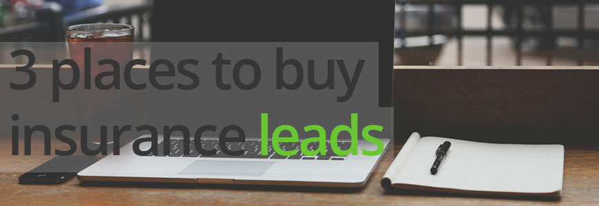 3 places to buy insurance leads