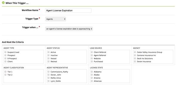 Agent License Expiration Automation