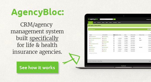 AgencyBloc agency management system crm