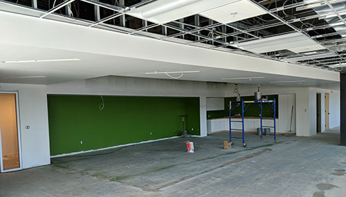 Construction of The Meeting Space