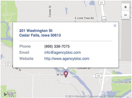 Facebook Contact Information