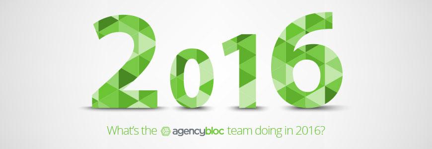 2016 AgencyBloc Goals