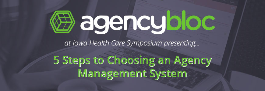 AgencyBloc Iowa Health Care Symposium