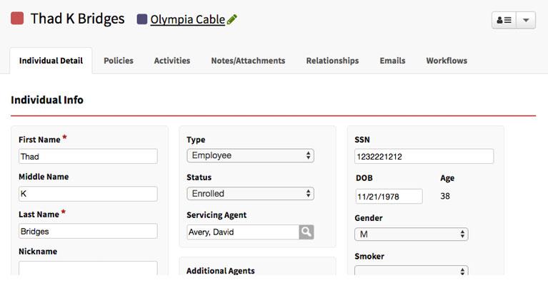 AgencyBloc Client & Prospect Data