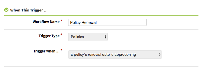 AgencyBloc Policy Renewal Automated Workflow