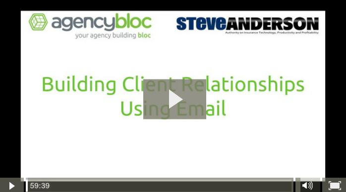 Building Client Relationships Using Email featuring Steve Anderson
