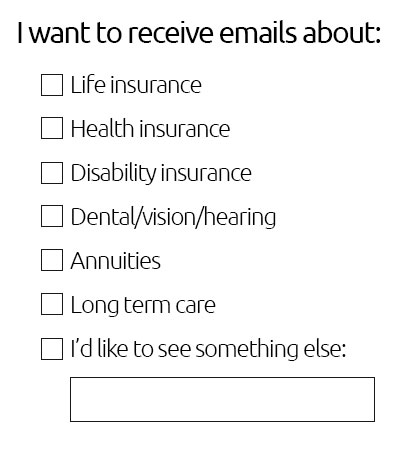 Email Preferences Insurance Agents