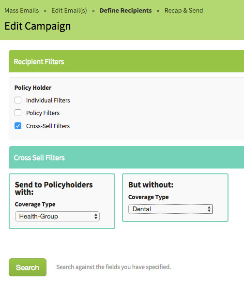 AgencyBloc's Cross-Selling Email Campaign