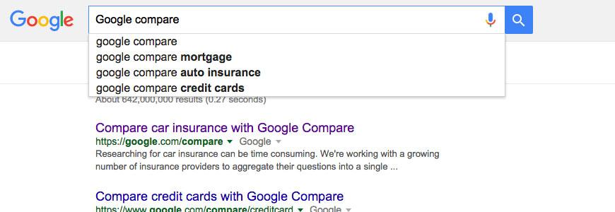 Google Compare to Shut Down