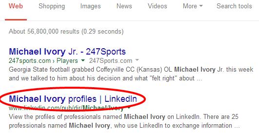 Linkedin Search