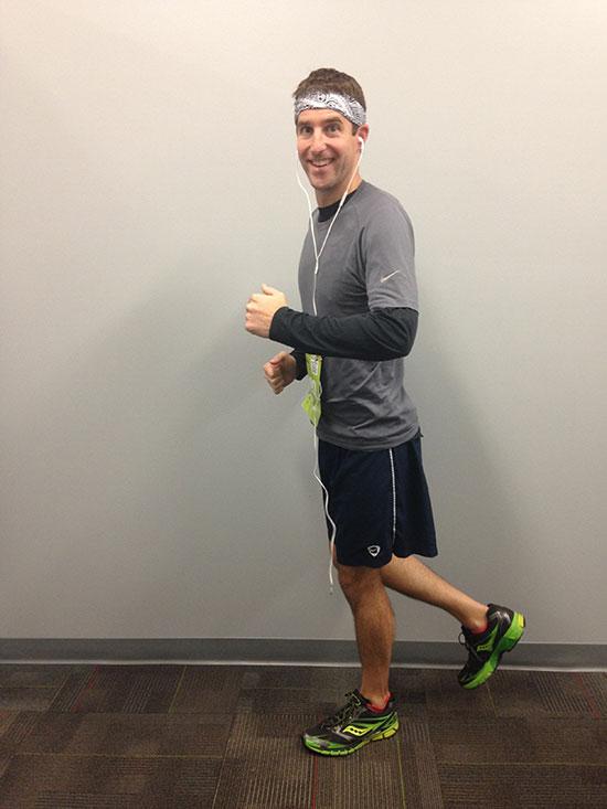 Adam the jogger