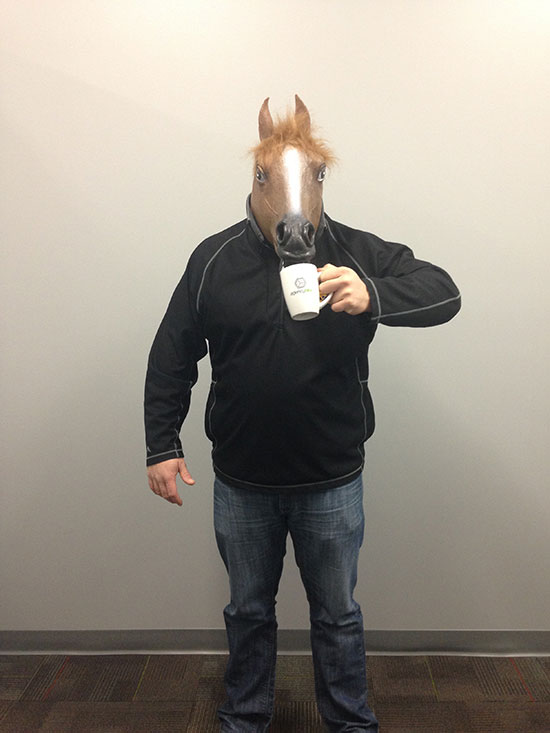 Mike the horse