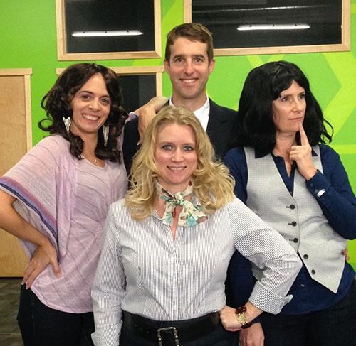Erica, Tasha, Adam, Jen