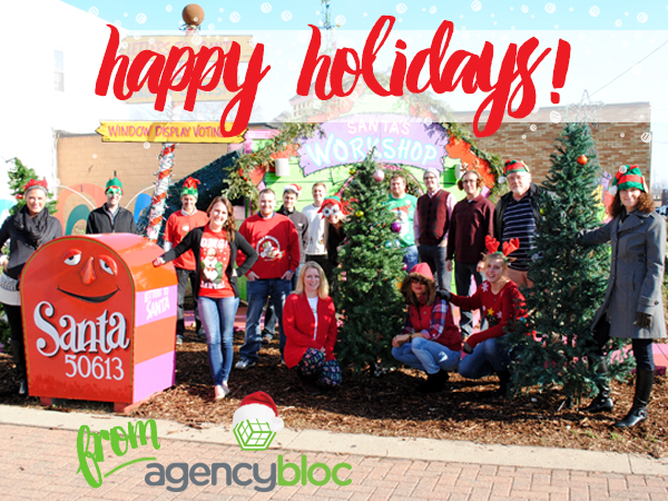 2016 Happy Holidays from AgencyBloc