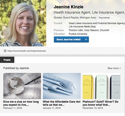 Jeanine Kinzie LinkedIn