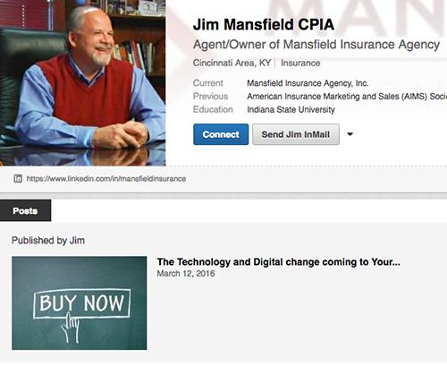 Jim Mansfield CPIA LinkedIn