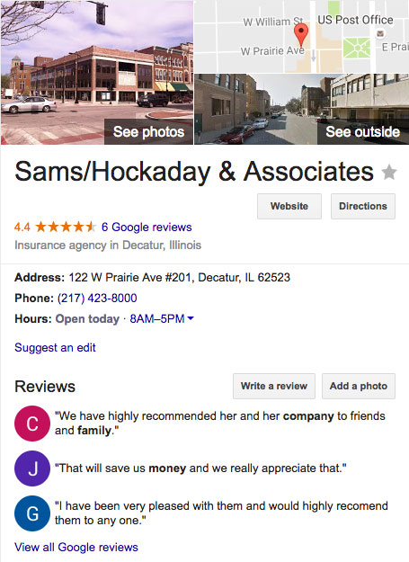 Sams/Hockaday & Associates