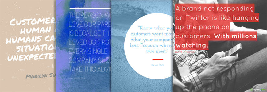 Social Media Quote Images Customer Service