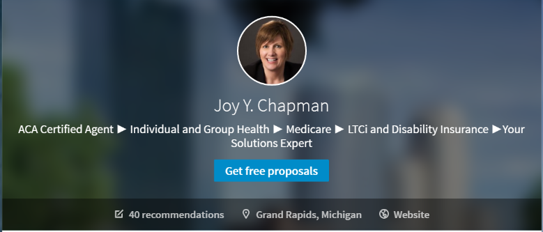 Joy Chapman - Independent Health Insurance Agent on LinkedIn
