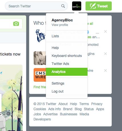 AgencyBloc Twitter Analytics