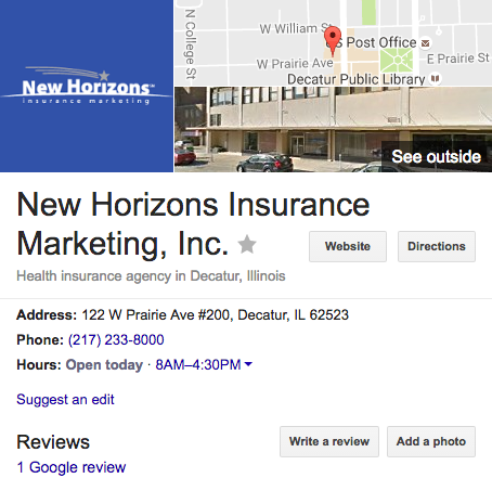New Horizons Insurance Marketing
