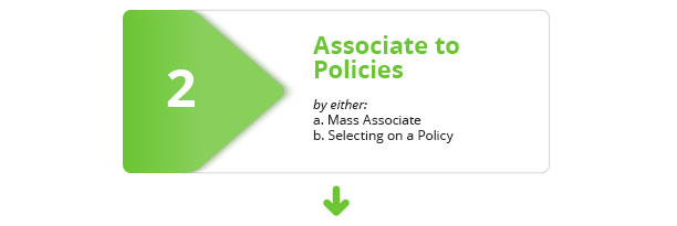 Step 2: Associate to Policies