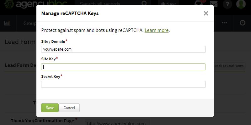 Enter reCAPTCHA