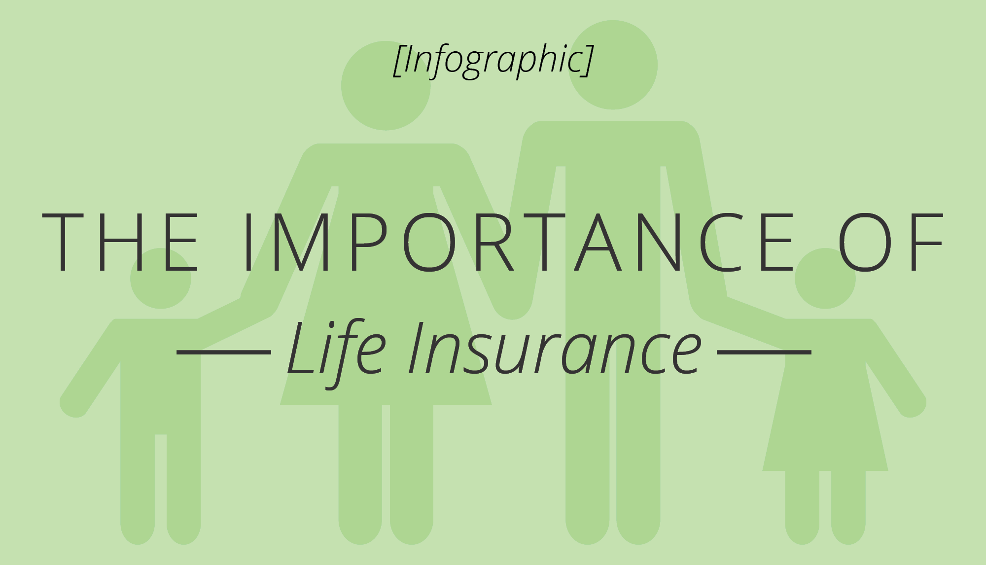 [Infographic] The Importance of Life Insurance
