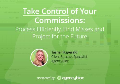 AgencyBloc Webinar: Commissions Processing