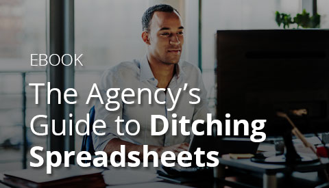 [eBook] The Agency's Guide to Ditching Spreadsheets