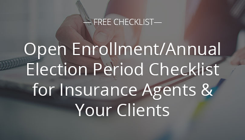 [Free Resource] Open Enrollment/Annual Election Period Checklist for Insurance Agents & Your Clients