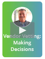 [On-Demand Webinar] Vendor Vetting: Making the right technology decisions for your insurance agency