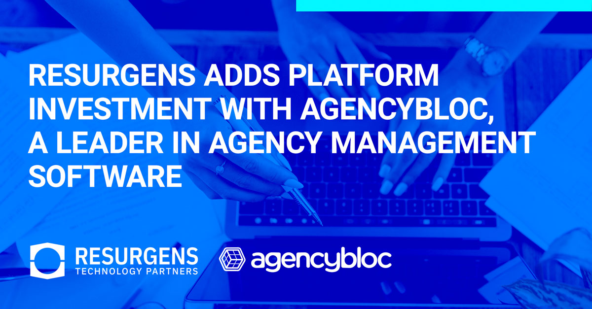 Resurgens Adds Platform Investment with AgencyBloc